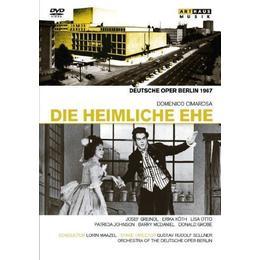Cimarosa: Die Heimliche Ehe (Die Heimliche Ehe 1967) (Arthaus Musik: 101625) [DVD]